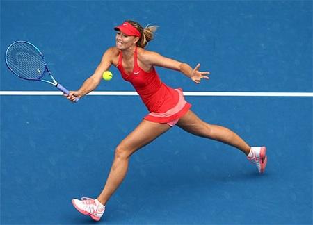 Sharapova đang có phong độ thi đấu ấn tượng