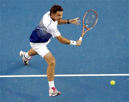 Wawrinka từng hạ Djokovic ở tứ kết Úc mở rộng 2014
