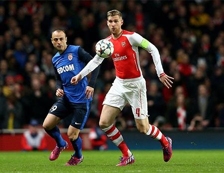 Đội hình xuất phát của các cầu thủ Arsenal