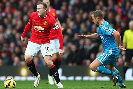 Rooney đã ghi bàn trong năm 2015