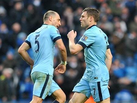 Milner tỏa sáng ở cuối trận để giúp Man City thoát thua