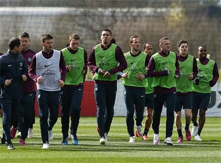 Kane đang tập luyện chăm chỉ cùng đồng đội mới