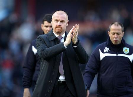 HLV Sean Dyche đầy tự tin khi đội bóng của ông tiếp đón Man City trên sân nhà