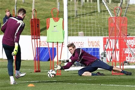 Góc tập luyện của các thủ môn