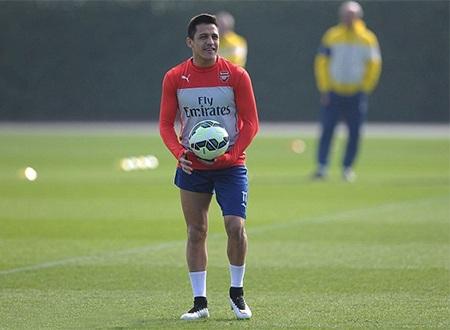Sanchez đang có phong độ thấp nhưng Wenger vẫn tin dùng anh