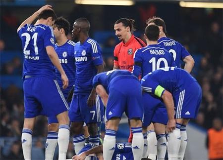 Chelsea vừa bị đánh bật khỏi Champions League