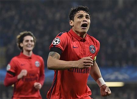 Silva ghi bàn quyết định đưa PSG đi tiếp