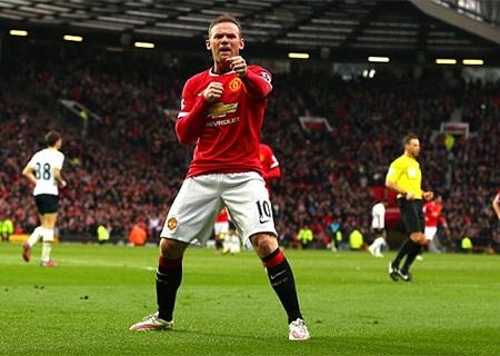 Pha ăn mừng kiểu đấm bốc của Rooney