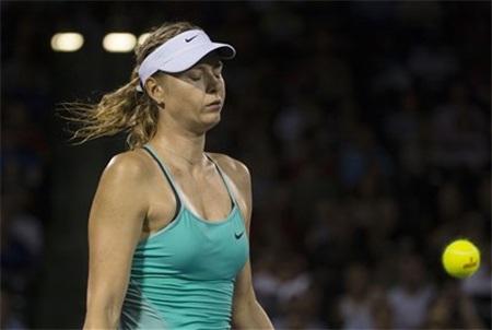 Nỗi buồn của Sharapova