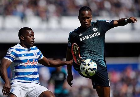 Do cả hai tiền đạo hàng đầu của Chelsea đang chấn thương nên Drgoba lĩnh ấn tiên phong ở trận này