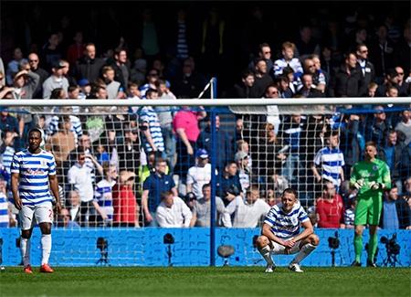 Hàng thủ của QPR đã chơi hớ hênh và bị trừng phạt