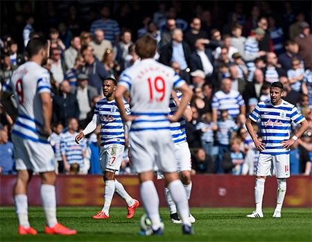 QPR chơi không tồi nhưng lại bị thủng lưới ở gần cuối