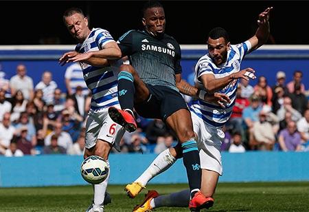 Chelsea đã có trận thắng quan trọng trước QPR tuần trước