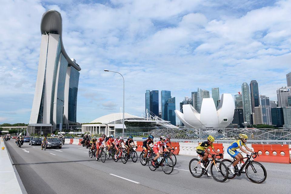 Các vận động viên thi đấu xe đạp tại SEA Games 28