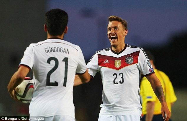 Các cầu thủ Đức đã chơi như đá tập