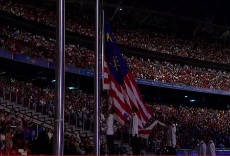 Quốc kỳ của Malaysia, nước chủ nhà SEA Games 29