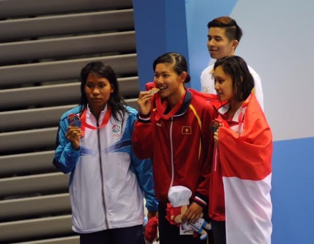 Ánh Viên đã giành 8HC, phá 8 kỷ lục SEA Games