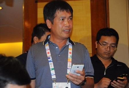 Ông Trần Đức Phấn - Trưởng đoàn thể thao Việt Nam, ảnh: Ngô Linh