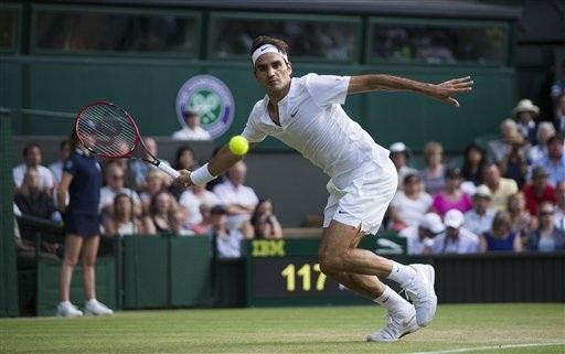 Federer vẫn đang thi đấu ổn định ở các vòng ngoài