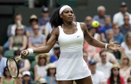Serena Williams vẫn được đánh giá cao nhất tại nội dung đơn nữ