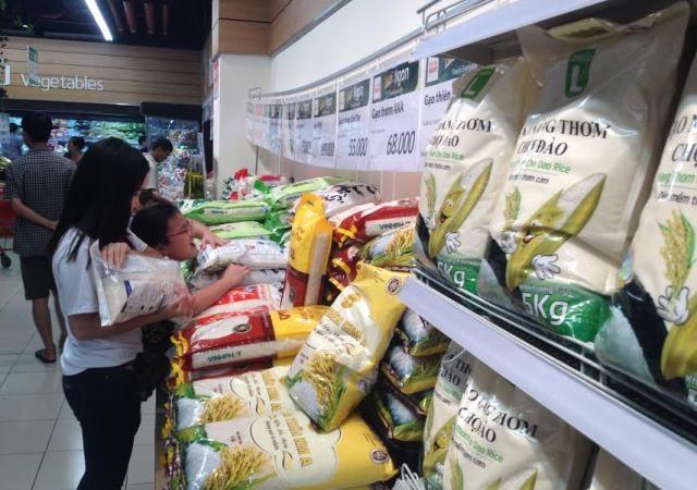 Hiện nay nhiều thương hiệu gạo ở ĐBSCL đã có chỗ đứng trên thị trường