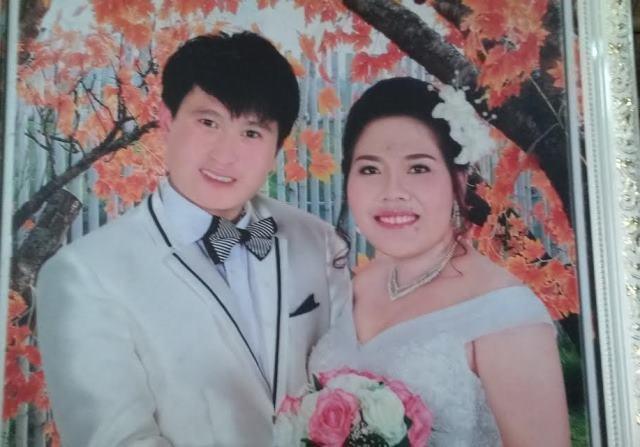 Cô dâu M.T. và chú rể người Trung Quốc bị câm điếc