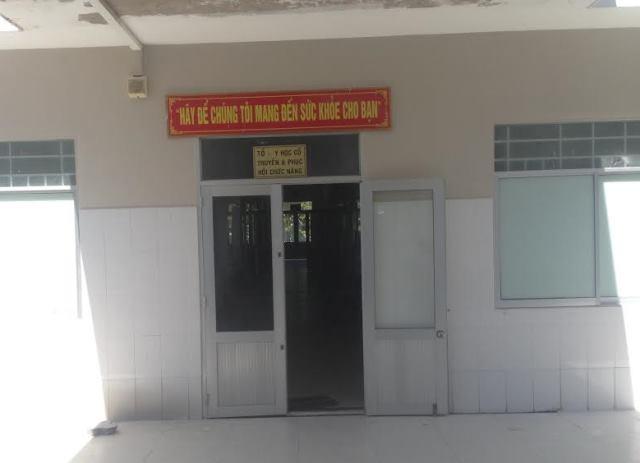 Khoa đông y BV Đa khoa quận Cái Răng, nơi ông K. công tác