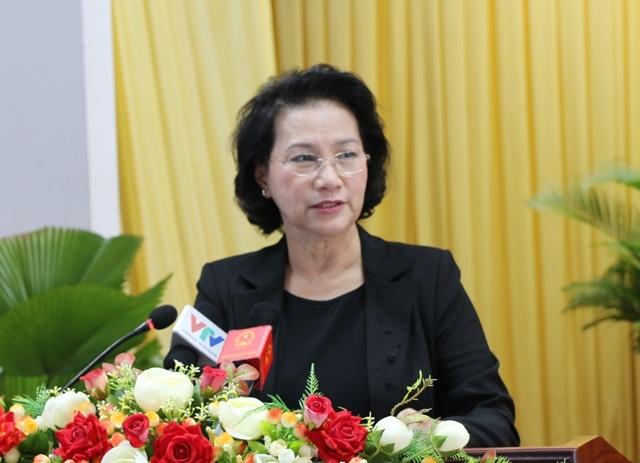 Chủ tịch Quốc hội Nguyễn Thị Kim Ngân, tiếp xúc cử tri Cần Thơ ngày 4/12