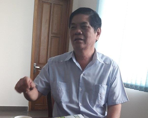 Ông Nguyễn Phong Quang, nguyên Phó Trưởng ban Thường trực Ban chỉ đạo Tây Nam Bộ (BCĐTNB) trao đổi với phóng viên Dân trí.