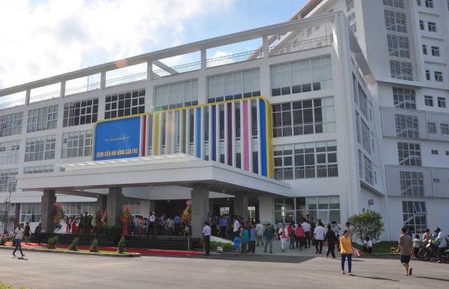 Bệnh viện Nhi Đồng Cần nơi thời gian gần đây tiếp nhận và điều trị cho nhiều bệnh nhi mắc bệnh lạ