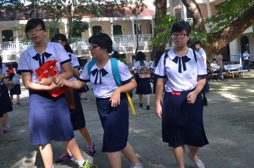 Trường THPT Lê Quý Đôn, một trong những trường có mô hình đào tạo tiên tiến tại TP HCM. (ảnh: Tấn Thạnh)