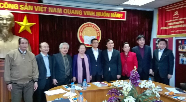 PTT Vũ Đức Đam, Bộ trưởng Bộ GD&ĐT cùng lãnh đạo Hội Khuyến học