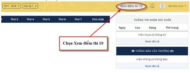 Hà Nội công bố điểm thi lớp 10 THPT 2018 - 4