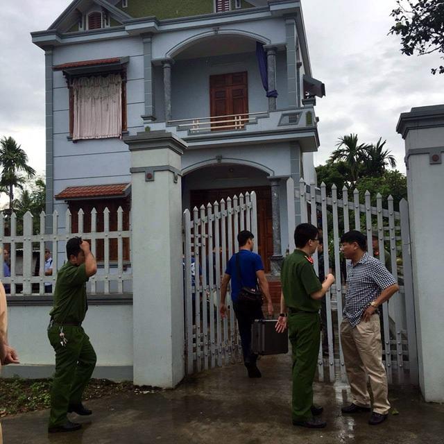Hiện trường vụ thám án ở Quảng Ninh