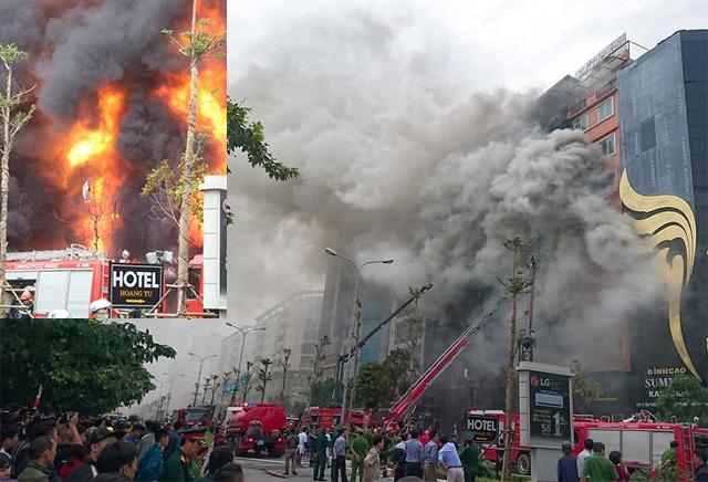 Vụ cháy quán karaoke 68 đường Trần Thái Tông làm 13 người chết