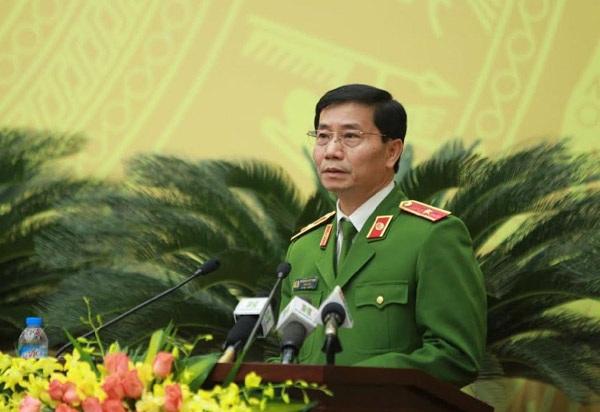 Thiếu tướng Hoàng Quốc Định - Giám đốc Sở Cảnh sát PCCC Hà Nội