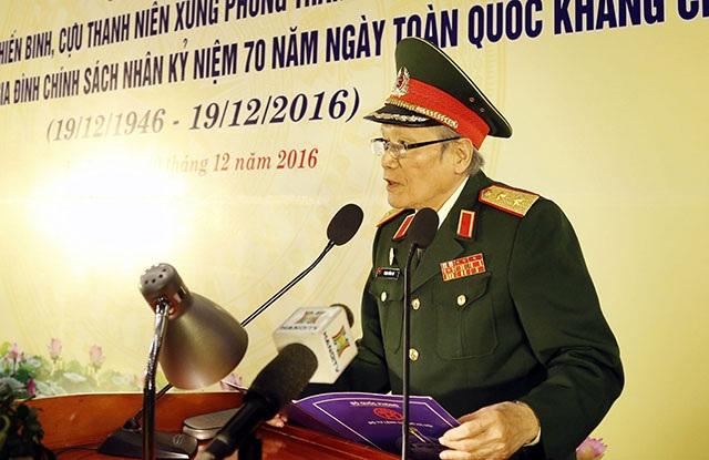 Trung tướng Phạm Hồng Cư cho biết, thế hệ các ông đã hoàn thành lời thề độc lập