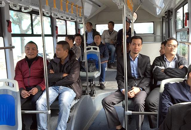 Xe buýt nhanh sẽ chính thức phục vụ hành khách từ 1/1/2017