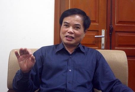 Ông Doãn Minh Tâm - nguyên Viên trưởng Viện Khoa học và Công nghệ GTVT (Bộ GTVT)