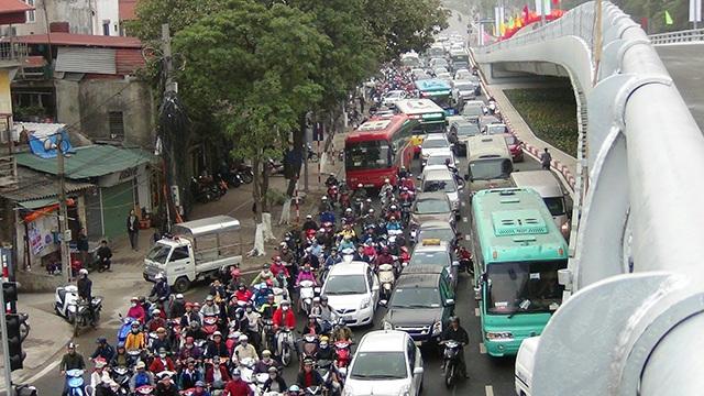 Nhiều năm gần đây tình trạng ùn tắc giao thông thường xuyên xảy ra tại nút giao này