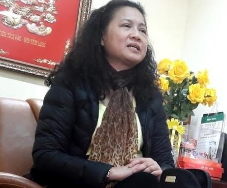 Quận Cầu Giấy chính thức khai trừ Đảng đối với bà Tạ Thị Bích Ngọc (Ảnh: Vietnamnet)