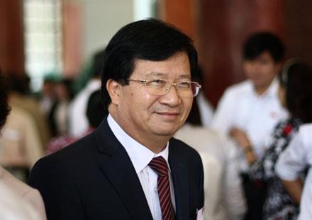 Bộ trưởng Bộ Xây dựng Trịnh Đình Dũng (ảnh: Việt Hưng)