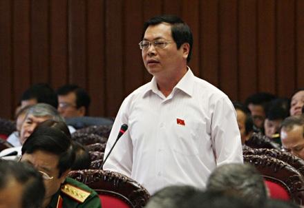 Bộ trưởng Bộ Công Thương Vũ Huy Hoàng (ảnh: Việt Hưng).