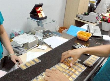 Tiếp tục chào thầu 26.000 lượng vàng vào sáng 22/4 (ảnh minh họa).