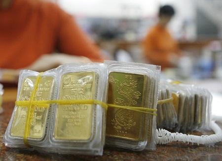 Vàng SJC vẫn cao hơn thế giới gần 6,3 triệu đồng/lượng.