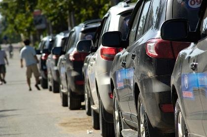 Hạn chế mua xe công (ảnh minh họa).