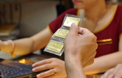 Doanh nghiệp vàng lãi gần 1 triệu đồng/lượng sau phiên đấu thầu (ảnh minh họa).