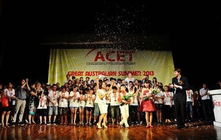 Đêm Gala kết thúc trong niềm hân hoan của toàn thể các em học sinh và thầy cô tại ACET.