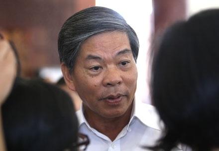 Bộ trưởng Nguyễn Minh Quang nói về hai dự án thủy điện 6 và 6A (ảnh; Việt Hưng).