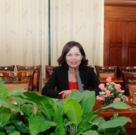 Bà Nguyễn Thị Hồng - Vụ trưởng Vụ Chính sách tiền tệ Ngân hàng Nhà nước.